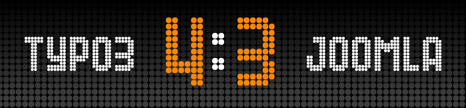 TYPO3 vs. Joomla: Anzeigentafel mit 4:3
